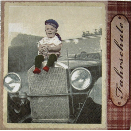 Мальчик на авто