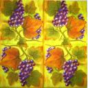 Виноград и листья