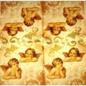 фигурки ангелов на узоре