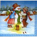 шарф для снеговика