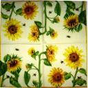 подсолнухи и пчелки