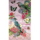 две птички в цветах 33 х 42