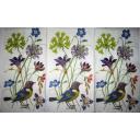 Птицы и нежные цветы