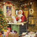 Дед Мороз с письмом