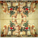 Дед Мороз и ангелы