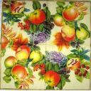яблоки, гранат  и ягоды