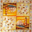 Ракушки, море и маяк
