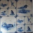 Изразцы с птицами