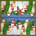 Снеговики. Caspari