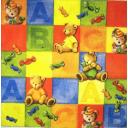 мишки и кубики