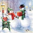 подарок снеговика