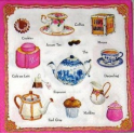 Чай, кофе, пирожное