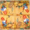 Гномы и мышка с орехом. Ladies Mol