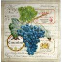 виноград и этикетки