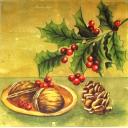 орешки и шишка
