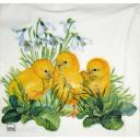 цыплята и подснежники