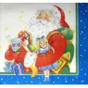 Санта с куклой
