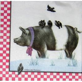 свинья с птички
