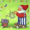 гном садовник
