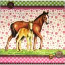 лошадки и ситцевые узоры