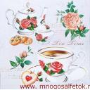 Розовое чаепитие