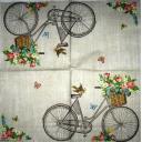 розы на велосипеде