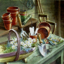 столик цветочницы