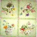 чашки с цветами