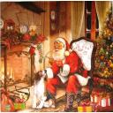 Санта с другом