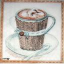 уютная чашка кофе