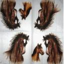 Акварельные лошадки