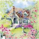 домик в цветах