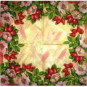 цветы и плоды шиповника