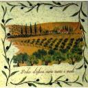 пейзаж с оливками