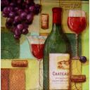 вино и фужеры