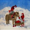гномы с лошадкой