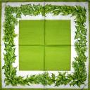 зеленая гирльянда