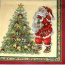 Санта и елка