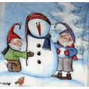 Снеговик и гномы