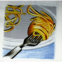 вилка и спагетти