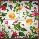 цветы и бабочки  Caspari