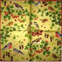 птички и ягодки Caspari
