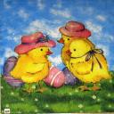 цыплята в шляпках