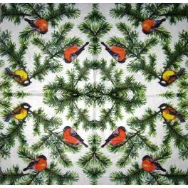 птички и елочки