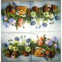 цветочки в гошочках