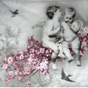Ангелочки в цветах