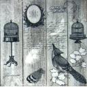 птичка, винтаж