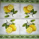 Лимончики с цветочками