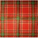 бордовая шотландка