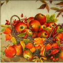 яблоки, физалис...